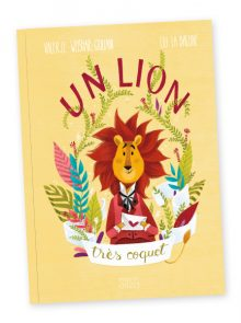 couverture un lion très coquet