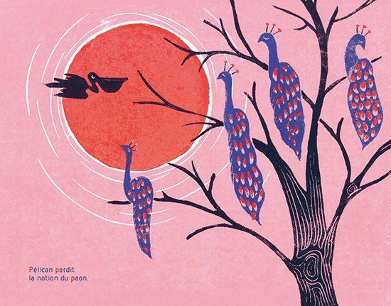 Illustration extraite de Péripétie d'une pêche impromptue