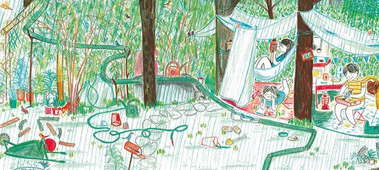 Dans le jardin V